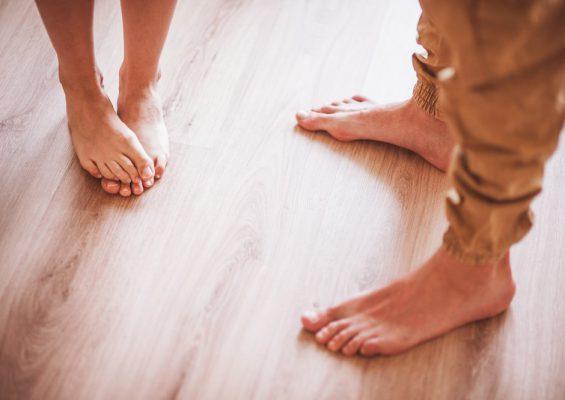 Podlahové topení a dřevěné podlahy