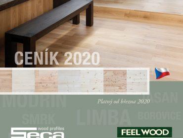 Prohlédněte si nový ceník dřevěných podlah FEELWOOD 2020, vyrábíme v Borohrádku!