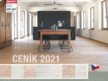 Nový ceník dřevěných podlah FEELWOOD pro rok 2021
