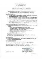 Závazek společnosti k systému PEFC